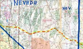 Map Of Utah And Nevada by The Hikanation Route