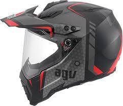 motocross helmet with visor agv ax 8 dual sport evo gt motocross atv dirtbike mx dot ece mens