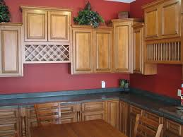 Kitchen Cabinets With Wine Rack by Glazing Kitchen Cabinets Bar Cabinet