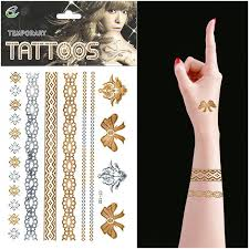 gold tribal temporary tattoos body art swoonsome best 10