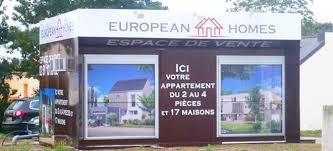 bureau de vente immobilier location de bulles de vente modulaires pour promoteurs