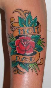 100 rose tattoo banner pictures and heart tattoos designs