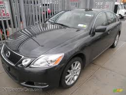 black lexus 2007 2007 lexus gs 350 awd in smoky granite mica 012867