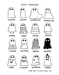 a ghost cartoon for halloween a named pj