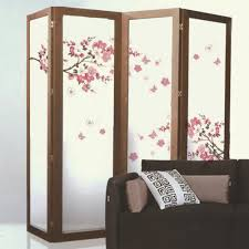 Door Decals For Home by Cherry Blossoms Papel De Parede Self Adhesive Wallpaper Screen