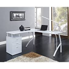 white mdf table top furniture white corner computer desk ideas for your home office