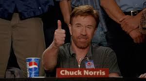 Chuck Norris Meme Generator - thank you chuck norris blank template imgflip