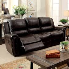 Stylish Recliner Sofa Beautiful Leather Recliner Sofa Sets Solid Wooden Frame