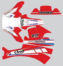motocross helmet wraps view product spiralgfx