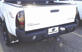 2007 toyota tacoma rear bumper toyota tacoma 2005 2011 front and rear bumpers