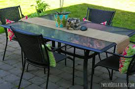Used Patio Furniture How To Paint Patio Furniture The Easy Way Twelveoeight