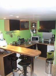 amenagement cuisine petit espace cuisine ouverte salon petit espace brillant amenagement cuisine