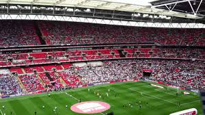 wembley stadium block 530 row 18 reading fc v swansea fc play