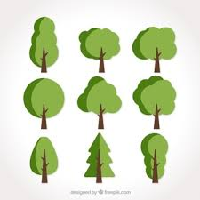 flat trees vectors photos and psd files free