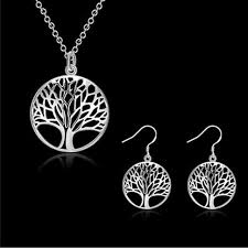 fashion necklace aliexpress images Fashion jewelry set necklaces earring best selling hot tree of jpg