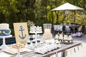 Baby Blue Wedding Decoration Ideas 12 Nautical Party Ideas For Boys Design Dazzle