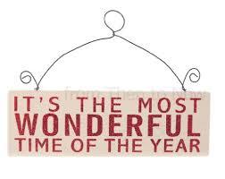 it u0027s the most wonderful time of the year u0027 red u0026 white glitter