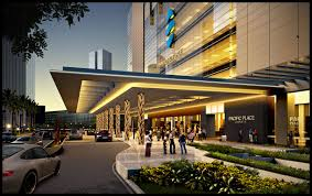 entrance design pacific place 1 south entrance jakarta indonesia arch