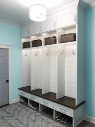 Interior Design 17 Mudroom Lockers Ikea Interior Custom Built Mudroom Lockers With Upper Cabinets Solid Maple