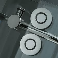 vigo 60 inch frameless tub door 3 8