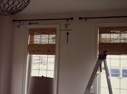 Where To Put Curtain Rods Hanging Curtain Rods Curtain Blog