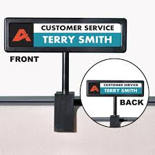 people pointer cubicle sign by people pointer avt75334