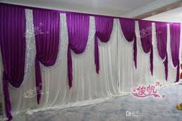 Wedding Backdrop Curtains For Sale Discount Wedding Curtain Backdrops Sale 2017 Wedding Curtain