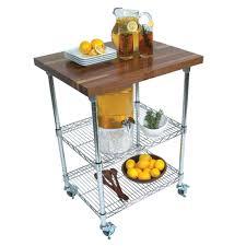 kitchen carts metropolitan wire cart walnut top wire shelves