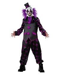 horror clown costume with mask horror panel horror shop com