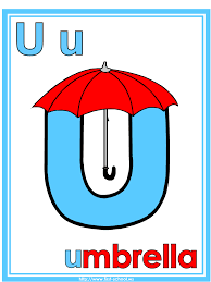 letter u umbrella theme lesson plan printable activities poster