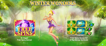 winter wonders slot free bonus