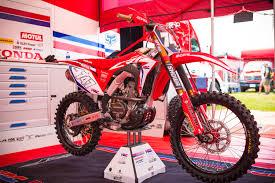 honda motocross racing team honda hrc 2018 honda crf250r transworld motocross