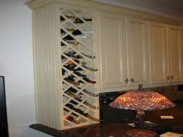 Wine Kitchen Cabinet Awesome 60 Built In Wine Racks For Kitchen Cabinets Inspiration