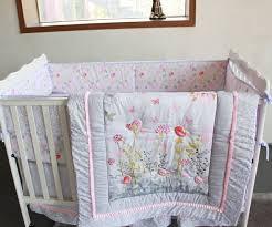 Crib Baby Bedding Giol Me Num Birds Flowers Crib Baby Bedding Set 100 Cotton