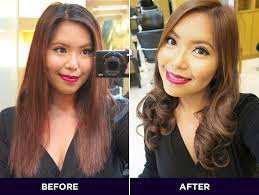hairstyle makeovers before and after hair makeover a quick cut color at jesi mendez marriott beautymnl