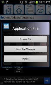 apk app how to manually install or side load apps on android
