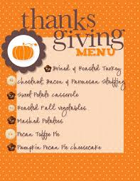 thanksgiving thanksgiving traditional dinner menu list splendi