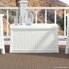 100 Wicker Patio Coffee Table - amazon com suncast elements coffee table with storage white