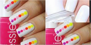 deepti nischol u0027s beauty mantras nail art for beginners in 5 steps