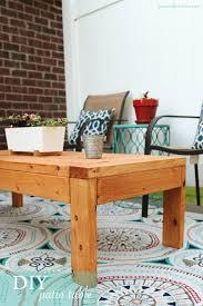 Diy Patio Furniture Diy Patio Table Pics And Pastries