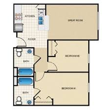 Lakeside Floor Plan Lakeside Terrace Senior Apartments 391 Avenue O Ne Winter Haven