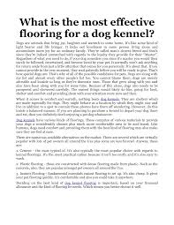 Outdoor Kennel Ideas by Outdoor Dog Kennel Flooring Options Flooring Designs