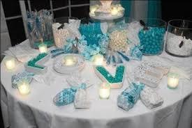 Tiffany Blue Wedding Centerpiece Ideas by Tiffany Blue Candy Table Gorgeous Wedding Decor Pinterest