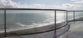 Chrome Banister Glass Balustrades
