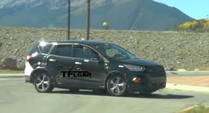 suv ford escape 2019 ford escape prototype escaping fires in the rocky mountains