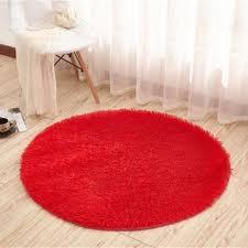 tapis rond chambre tempsa tapis rond peluche anti d rapant pour salle de bain chambre