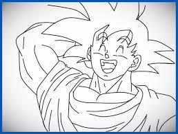 imagenes de goku para dibujar faciles con color imagenes de goku para dibujar faciles para imprimir imágenes de goku
