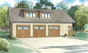 Garage With Living Quarters by 3 Car Garage Plan With Side Entrance Living Quarters 1652