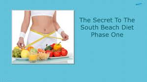 the secret to the south beach diet phase one south beach diet
