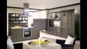 Kitchen Design Ideas Org Cheap Modern Two Tone Grey Cainet Design Ideas For Modern Look